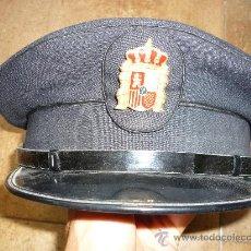 Militaria: GORRA PLATO POLICÍA MUNICIPAL LOCAL ANTIGUA SASTRERIA MILITAR LA JAPONESA ALICANTE . Lote 141974804
