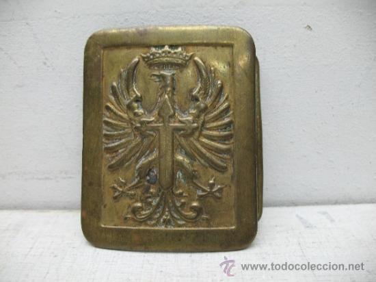 ANTIGUA HEBILLA MILITAR (Militar - Cinturones y Hebillas )