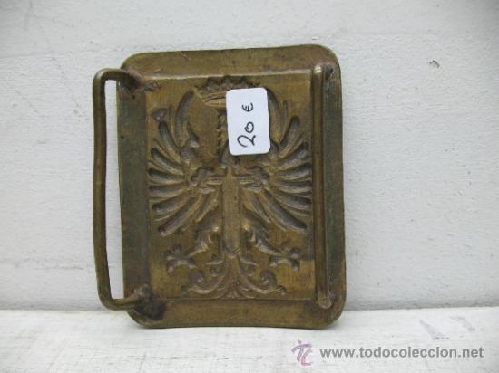 Militaria: Antigua hebilla militar - Foto 2 - 33428088