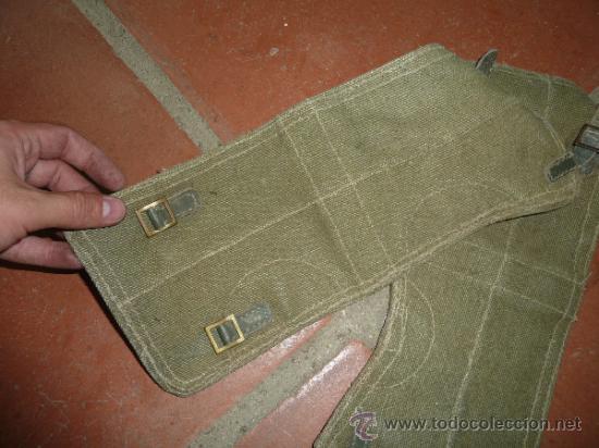 Militaria: Pareja de antiguas polainas a identificar el modelo. - Foto 2 - 33794129