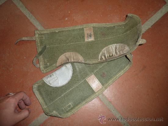 Militaria: Pareja de antiguas polainas a identificar el modelo. - Foto 3 - 33794129