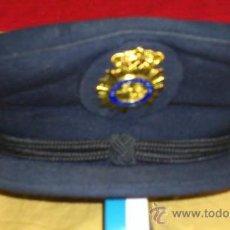 Militaria: GORRA DEL CUERPO NACIONAL DE POLICIA., CON INSIGNIA , BARBUQUEJO Y BOTONES TALLA 60. Lote 35182889