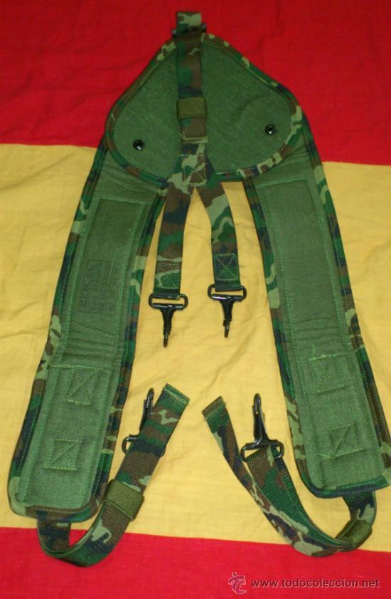 Militaria: CORREAJE-TRINCHAS MIMETIZADO WOOLAND, LEGION, BRIPAC, COES, ESPAÑA - Foto 2 - 36454348