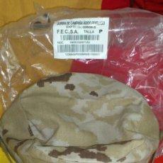 Militaria: GORRA ARIDA DE FAENA PARA UNIFORME MIMETIZADO ARIDO PIXELADO, TALLA P. Lote 34502596
