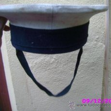 Militaria: GORRA MILITAR MARINA TALLA 56. Lote 34629925