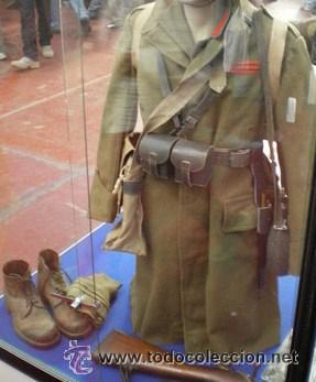 Militaria: Uniforme original CTV, botas algo más oscurecidas, debido al uso,el sol, el agua y la grasa que se les aplicaba. - Foto 7 - 267634559