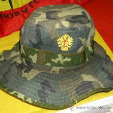Militaria: CHAMBERGO MIMETIZADO WOOLAND, ANTIDESGARRO, TALLA P. AGUILA AMARILLA. Lote 35307017