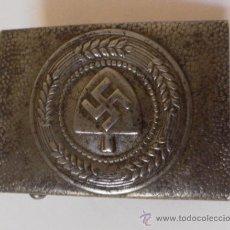 Militaria: ALEMANIA. II GUERRA MUNDIAL. HEBILLA FRENTE DEL TRABAJO. Lote 34946985
