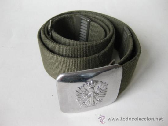 CINTURON DEL EJERCITO DE LOS AÑOS 80 (Militar - Cinturones y Hebillas )