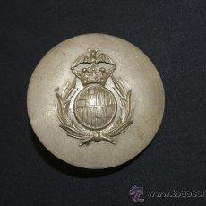 Militaria: ANTIGUA HEBILLA DE SERENO O POLICIA DE BARCELONA, DE PRINCIPIOS S.XX. RARA. Lote 35068672