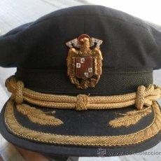 Militaria: GORRA A CATALOGAR. POR EL BOTÓN NOS PARECE DE LA MARINA MERCANTE. Lote 35268369