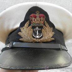 Militaria: GORRA MARINA DE GUERRA INGLESA.. Lote 35268474