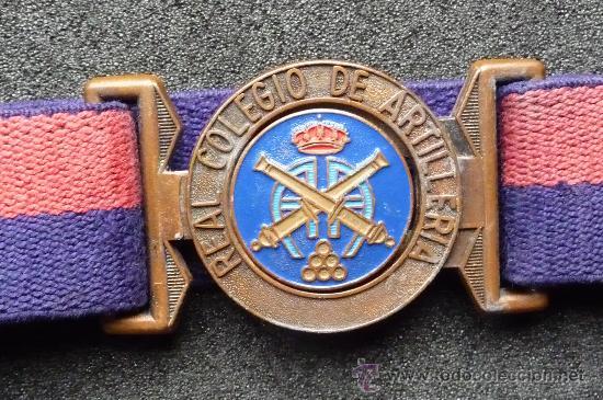 Militaria: (JX-615)CINTURON DEL REAL COLEGIO DE ARTILLERIA - Foto 4 - 35324349