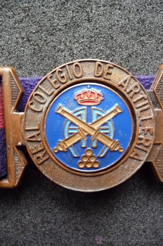 Militaria: (JX-615)CINTURON DEL REAL COLEGIO DE ARTILLERIA - Foto 5 - 35324349