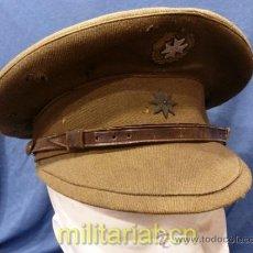 Militaria: GORRA DE PLATO DE COMANDANTE DE SANIDAD. GUERRA CIVIL. EJÉRCITO NACIONAL.. Lote 35340450