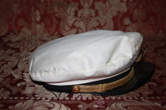 Militaria: LOTE DE GORRA Y GALONES DE LA MARINA - AÑOS 40 - Foto 4 - 35527230