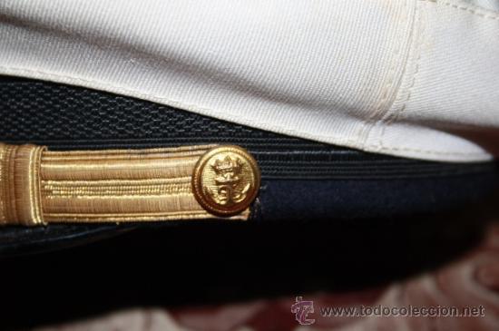 Militaria: LOTE DE GORRA Y GALONES DE LA MARINA - AÑOS 40 - Foto 6 - 35527230
