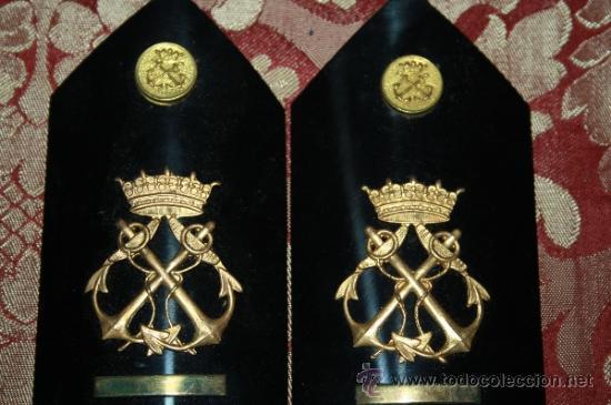 Militaria: LOTE DE GORRA Y GALONES DE LA MARINA - AÑOS 40 - Foto 9 - 35527230