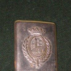 Militaria: EVILLA DE LA POLICIA MUNICIPAL DE BILBAO AÑOS 50-60. Lote 35586891