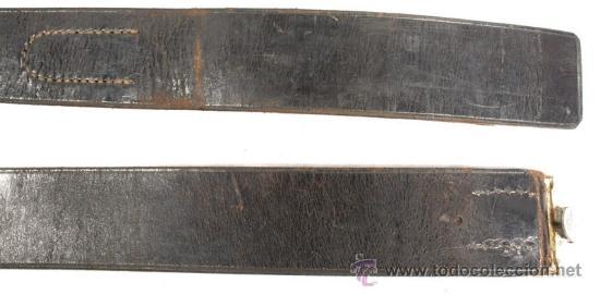 Militaria: Cinturón y hebilla del servicio de trabajo, Rad (Reichsarbeitsdienst), original alemán 2 GM - Foto 4 - 131502122