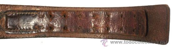 Militaria: Cinturón y hebilla del servicio de trabajo, Rad (Reichsarbeitsdienst), original alemán 2 GM - Foto 5 - 131502122