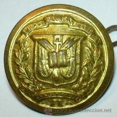 Militaria: BOTON REPUBLICA DOMINICANA. Lote 35826813
