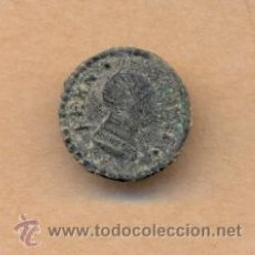 Militaria: MONEDA 421 - BOTÓN MILITAR FERNANDO VII - 15 MM - 2 GRS CURRENCY 421 - MILITARY BUTTON FERNANDO VII. Lote 35895801