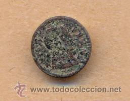 MONEDA 423 - BOTÓN MILITAR FERNANDO VII - 15 MM - 2 GRS CURRENCY 423 - MILITARY BUTTON FERNANDO VII (Militar - Botones )