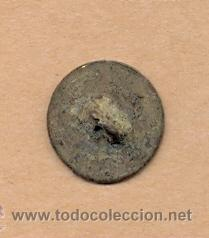Militaria: MONEDA 423 - BOTÓN MILITAR FERNANDO VII - 15 MM - 2 GRS CURRENCY 423 - MILITARY BUTTON FERNANDO VII - Foto 3 - 35896575