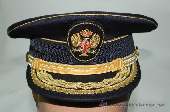 Antigua gorra de plato de general del ejercito - Vendido en Venta ... f8680d59e9a