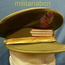 Militaria: ESPAÑA. GORRA DE PLATO DE SARGENTO. ÉPOCA JUAN CARLOS I.. Lote 36345702