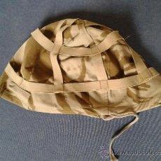 Militaria: FUNDA CASCO INGLESA DESERT. Lote 49000629