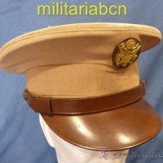 Militaria: GORRA DE PLATO DEL EJÉRCITO DE TIERRA. 2ª GUERRA MUNDIAL. VERANO. Lote 36369025