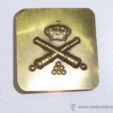 Militaria: ANTIGUA PEQUEÑA HEBILLA DE ARTILLERIA, ALFONSO XIII. Lote 36694479