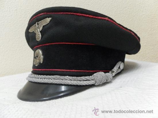 Militaria: Reproducción. II Guerra Mundial. Gorra Alemana. - Foto 3 - 36847769