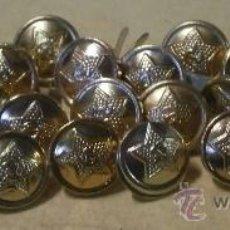 Military - Lote de 24 botones pequeños. Rusia - 36875430