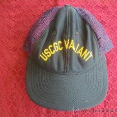 Militaria: GORRA AMERICANA DEL GUARDACOSTAS VALIENT. AÑOS 70-80.. Lote 37057541