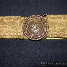 Militaria: HEBILLA CON CINTURON DE GALA DE AVIACION. Lote 37236944