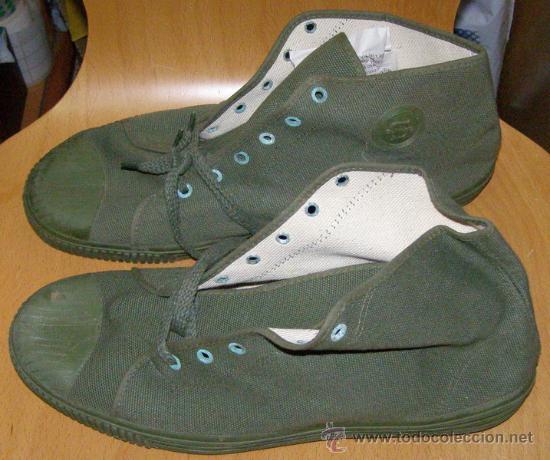 Botas de deporte militares ej rcito espa ol a comprar for Zapatillas paredes anos 70