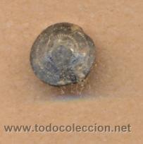 MON 660 BOTÓN ANTIGUO CON ESTRIAS COBRE 13 MM (Militar - Botones )