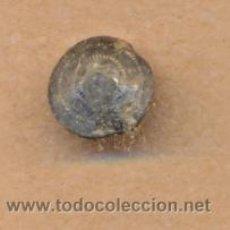 Militaria: MON 660 BOTÓN ANTIGUO CON ESTRIAS COBRE 13 MM. Lote 37396867