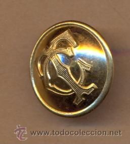 MON 690 BOTÓN CHAPADO TC REVERSO MOISES SANCHA - MADRID 20 MM APROX (Militar - Botones )
