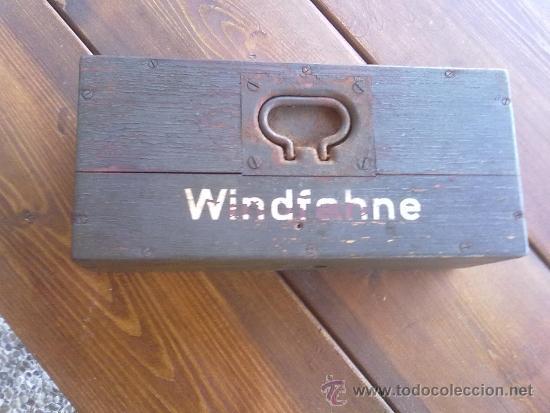 Militaria: caja windfahne - Foto 2 - 37549096
