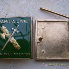 Militaria: HEBILLA GUARDIA CIVIL. ESPAÑA. AÑOS ´80-´90. . Lote 152008658
