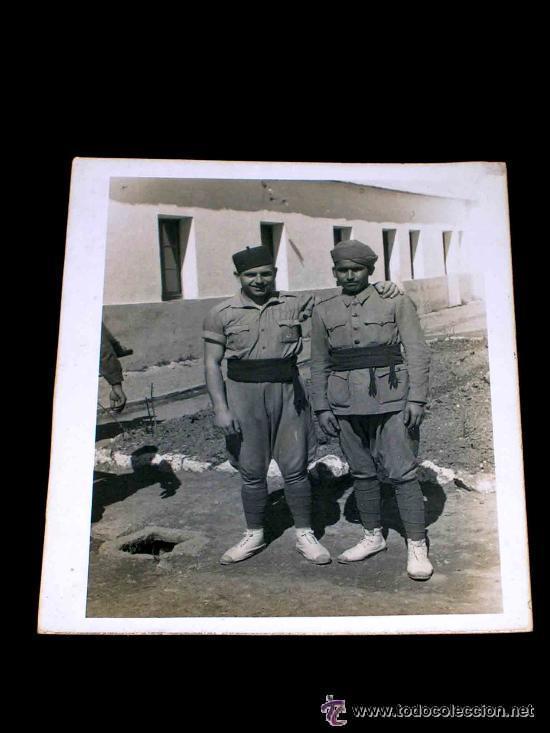 Militaria: Bota alpargatas legionaria. Guerra de Marruecos - Foto 4 - 93953364