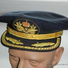 Militaria: GORRA PILOTO COMANDANTE DE IBERIA,LINEAS AEREAS, EXCELENTE ESTADO DE CONSERVACION, TALLA 58.. Lote 56271015