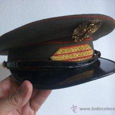 Militaria: GORRA DE PLATO DE SARGENTO DEL CUARTEL GENERAL DEL EJERCITO. EPOCA DE FRANCO .DE CASA YUSTAS.. Lote 38189531