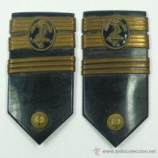 Militaria: PAREJA DE CHARNELAS DE MARINO, ESPAÑA. .. Lote 38289211