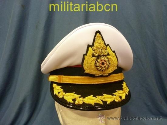 TAILANDIA. GORRA DE PLATO DE GENERAL. MODELO DE PARADA. (Militar - Boinas y Gorras )