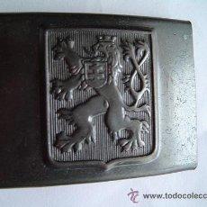 Militaria: HEBILLA CHECA WWII. Lote 39074611